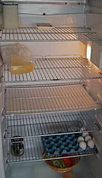Ordlös Onsdag 5: kylskåpsstatus idag