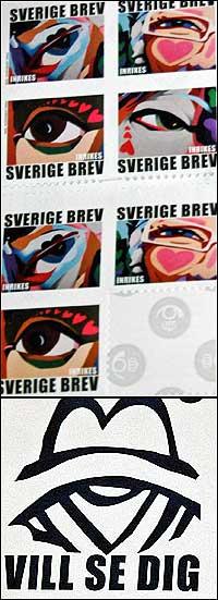 Svenska frimärken