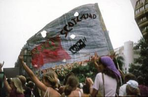 Fredsmarschen Köpenhamn - Paris 1981